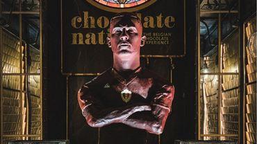Eden Hazard désormais sa statue... en chocolat
