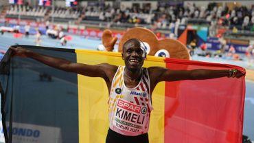Isaac Kimeli avait remporté la médaille d'argent sur 3000m à l'Euro de Torun.