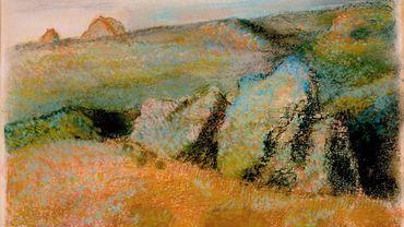 "Edgar Degas (France, 1834–1917), ""Paysage avec rochers"", 1892"