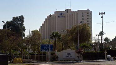 Un hôtel Hiton en Egypte