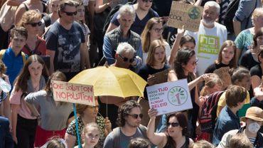 Une manifestation pour le climat a débuté à Bruxelles