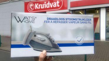 Pigeons a testé : le fer à repasser à 30 euros chez Kruidvat