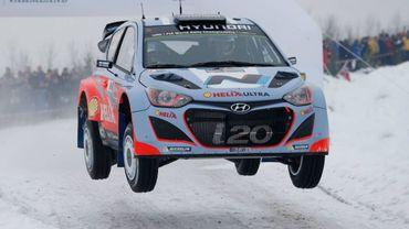 L'arrivée du Rallye de Suède en direct