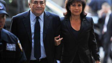 """Anne Sinclair exprime son """"dégoût"""" pour le film sur DSK mais n'attaque pas en justice"""
