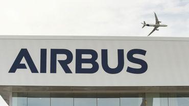 Un Airbus A350 1000 le 18 juin 2019 à l'aéroport du Bourget