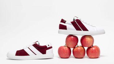 La marque CAVAL présente une collection de baskets en cuir de pomme.