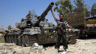 """Illustration - Les rebelles de Syrie affirment avoir reçu des """"armes modernes"""""""