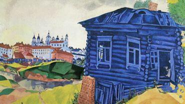 La maison bleue de Chagall