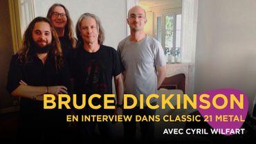 Bruce Dickinson en interview
