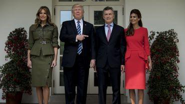 Le président des Etats-Unis Donald Trump a insisté jeudi sur la longue amitié qui le lie au président argentin de centre droit Mauricio Macri qu'il a reçu à la Maison Blanche.