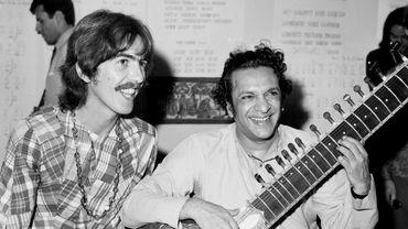 George Harrison et Ravi Shankar
