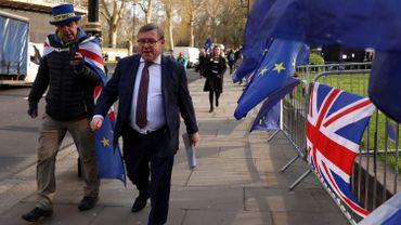 Le député conservateur europhobe Mark Francois