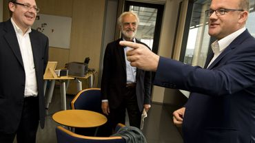 La direction de Walibi a rencontré Philippe Courard à propos du Speedy Pass