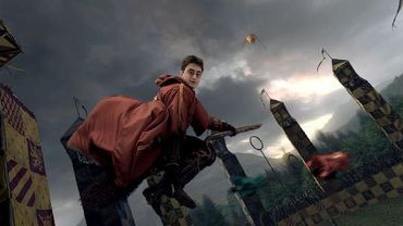 Harry Potter en plein tournage