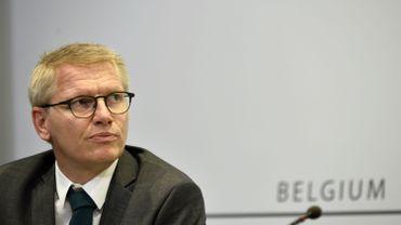Le vice-premier ministre Georges Gilkinet, le 20 novembre 2020 à Bruxelles