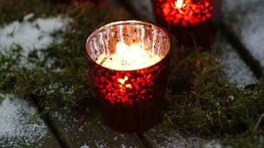 La douceur de l'éclairage à la bougies