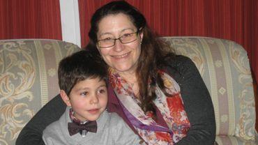 Pascale et son fils Damien