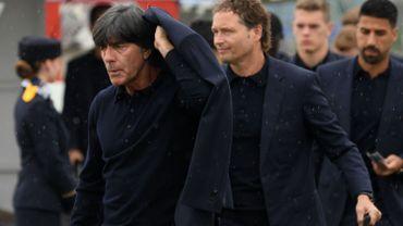 L'équipe d'Allemagne, tenante du titre, est arrivée en Russie
