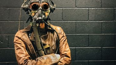 Une expo dans le coup où les héros sont masqués