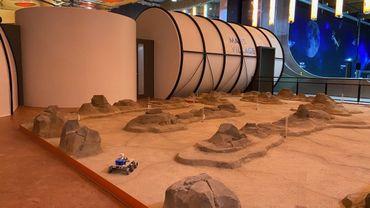 """Le """"village martien"""", l'une des nouveautés de l'Eurospace Center"""