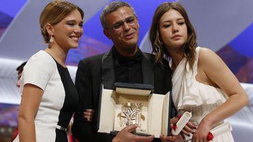 Léa Seydoux, Abdellatif Kechiche et Adèle Exarchopoulos