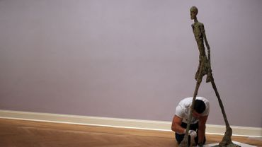 """Alberto Giacometti, """"L'homme qui marche II"""""""