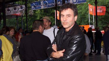 Pierre Rapsat aux Francofolies de Spa, en 1999