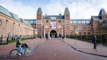 Un tableau offert au Rijksmuseum d'Amsterdam en hommage aux victimes du coronavirus