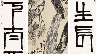 Une oeuvre de Qi Baishi