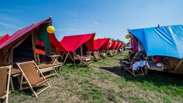 Tomorrowland: 25 tonnes de matériel de camping laissées sur le site du festival