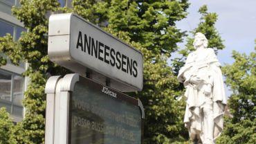 Les riverains d'Anneessens pointent les problèmes de logement dans leur quartier