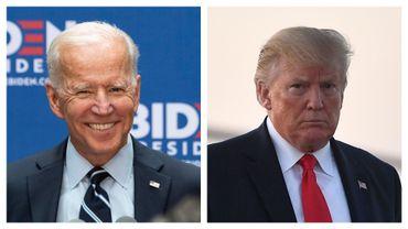 Le candidat démocrate Joe Biden prêt à faire un concours de pompes avec Donald Trump
