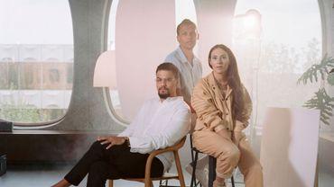 Luc Junior Tam, Stromae, et Coralie Barbier, le trio à la tête du label Mosaert.