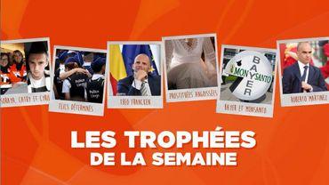 Les Trophées de la Semaine : Les victimes de Liège, les policiers, Theo Francken, des prostituées, Bayer et Roberto Martinez