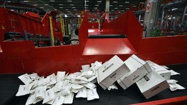 La baisse de courrier chez bpost plus importante que prévue