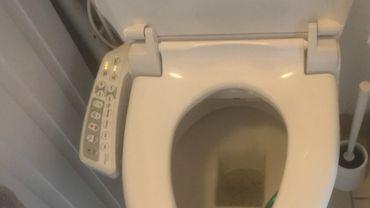 La toilette japonaise (rabattant électrique) est plus sophistiquée que nos toilettes traditionnelles. Elles permettent aussi de se passer de papier.