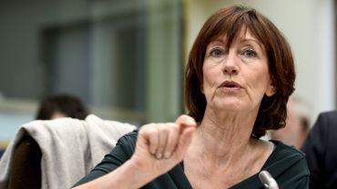 Laurette Onkelinx, cheffe de groupe PS à la Chambre