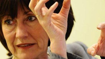 La ministre des Affaires sociales et de la Santé Laurette Onkelinx