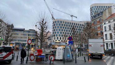 Le réaménagement de la porte d'Anvers devrait commencer le 6 janvier et durer au moins 6 mois