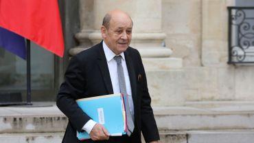 Jean-Yves Le Drian, ministre français des Affaires étrangères.