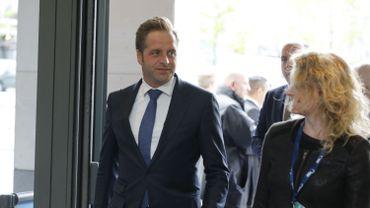 Hugo de Jonge en mai dernier à Bruxelles.