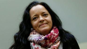 Beate Zschäpe, au tribunal de Munich le 11 juillet 2018