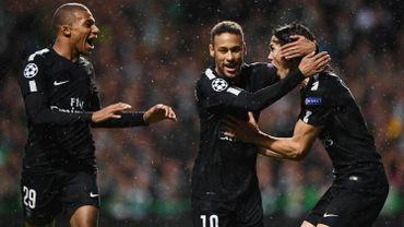 Mbappé, Neymar et Cavani