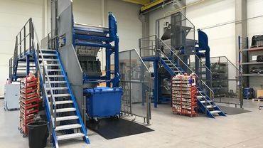 Les machines d'ABM-Ecosteryl permettent de traiter de 100 à 600 kg de déchets médicaux en fonction de leur taille