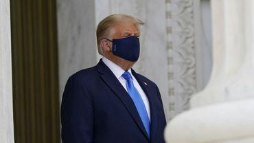 Coronavirus aux Etats-Unis: Donald Trump était plus malade cet automne que ce qui avait été annoncé