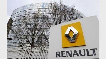 Vue du siège de Renault à Boulogne-Billancourt, le 11 janvier 2011.