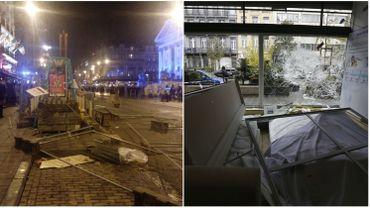 Les émeutes à Bruxelles ont fait 23 blessés, dont 22 policiers