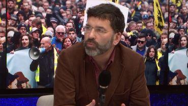 Manuel Abramowicz, spécialiste des mouvements d'extrême droite et responsable de la revue web RésistanceS.be