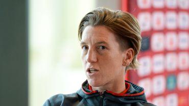 Aline Zeler prend sa retraite internationale