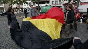 Manifestation pour la Belgique